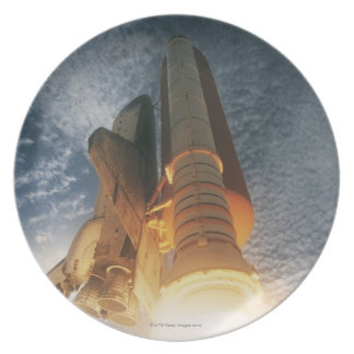 Launching Space Shuttle Dinner Plate