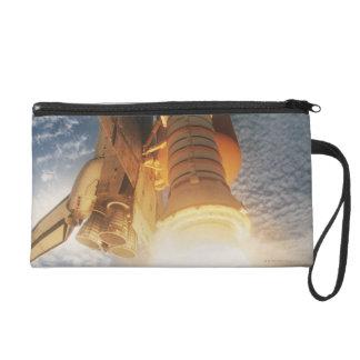 Launching Space Shuttle Wristlet Purse