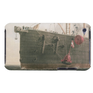 Launching the buoy, August 8th, 1865, marking the Barely There iPod Cover