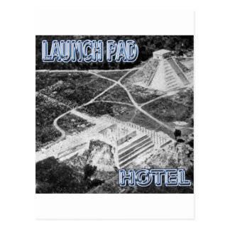 Launchpad and Hotel Post Card