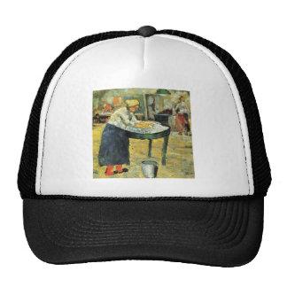 Laundress by Kazimir Malevich Hats