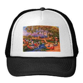 Laundresses by Pierre Renoir Hat
