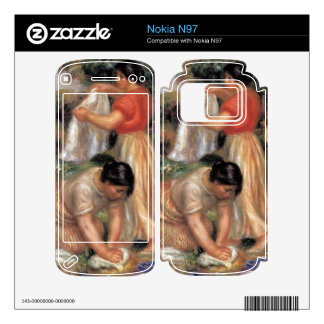 Laundresses by Pierre Renoir Decals For The Nokia N97
