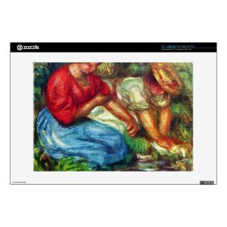 Laundresses by Pierre Renoir Skins For Laptops