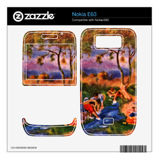 Laundresses by Pierre Renoir Decal For The Nokia E63