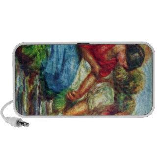 Laundresses by Pierre Renoir Travel Speakers