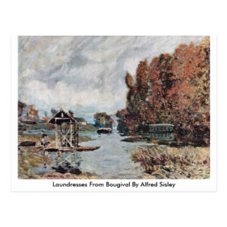 Laundresses From Bougival By Alfred Sisley Postcard