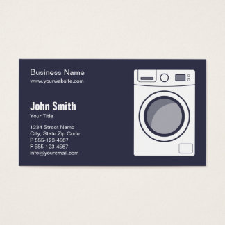 Laundromat / Appliance Repair, Service and Sale Business Card