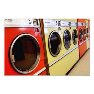 laundromat photo print