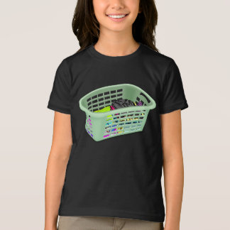 Laundry Basket Girls T-Shirt