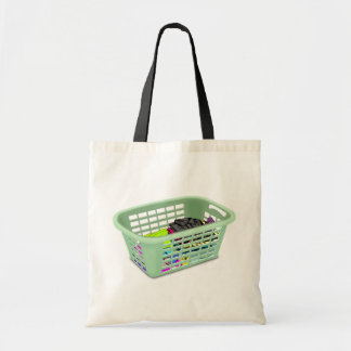Laundry Basket Tote Bag