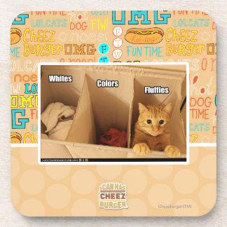 Laundry Cat Coaster