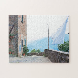 Laundry Day in Vellano Jigsaw Puzzle