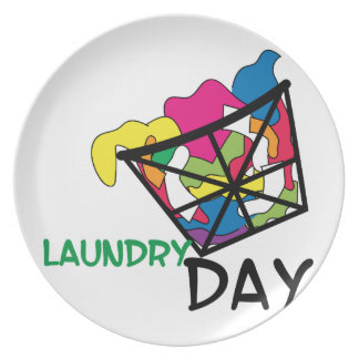 Laundry Day Party Plates