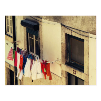 Laundry Day Postcard