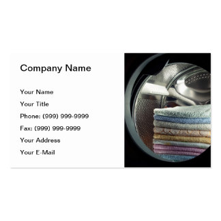 Laundry Double-Sided Standard Business Cards (Pack Of 100)