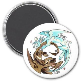 Laundry Dragons Dishwasher Magnet! Magnet