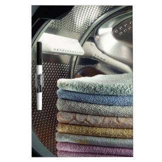 Laundry Dry Erase Board