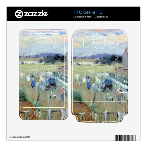Laundry drying by Berthe Morisot Decals For HTC Desire HD