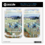Laundry drying by Berthe Morisot BlackBerry Torch Skins