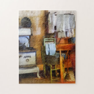 Laundry Drying in Kitchen Jigsaw Puzzle