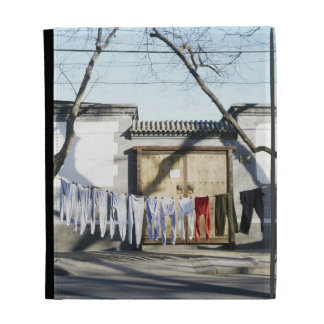 Laundry Drying on Clotheslines iPad Cases