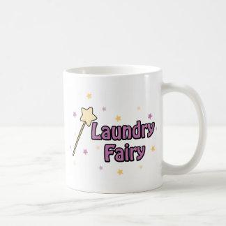 Laundry Fairy Classic White Coffee Mug