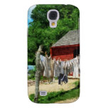 Laundry Hanging on Line Samsung Galaxy S4 Cases
