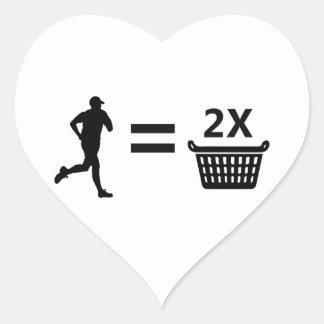 Laundry Heart Sticker