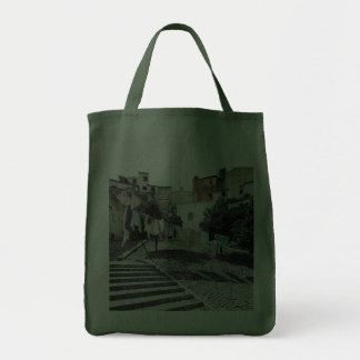 LAUNDRY IN LISBON (PORTUGAL) Grocery Tote Bag