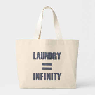 Laundry = Infinity Large Tote Bag