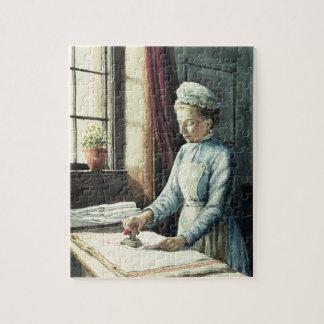 Laundry Maid, c.1880 Jigsaw Puzzle