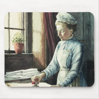 Laundry Maid, c.1880 Mouse Pad