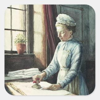 Laundry Maid, c.1880 Square Sticker