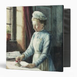 Laundry Maid, c.1880 Vinyl Binder