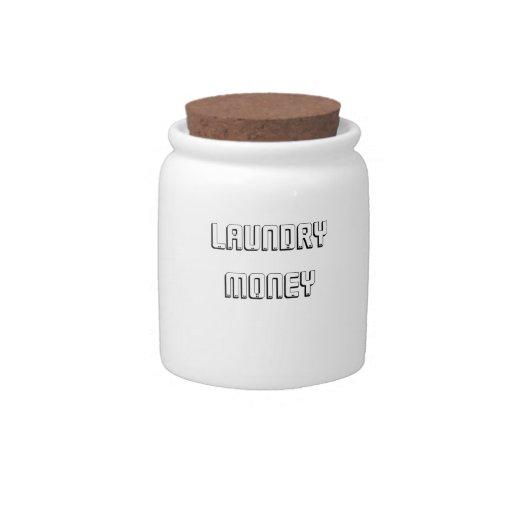 """Laundry Money"" Jar Candy Jars"