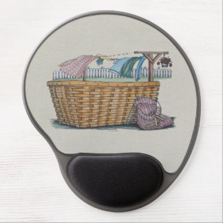 Laundry On Clothesline Gel Mousepad