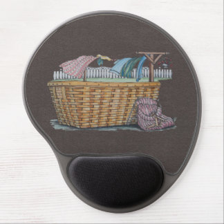 Laundry On Clothesline Gel Mouse Pad
