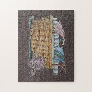 Laundry On Clothesline Jigsaw Puzzles