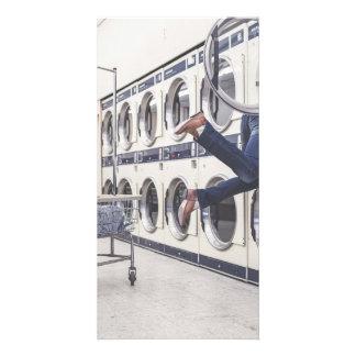laundry photo greeting card