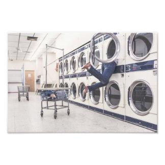 laundry photo art