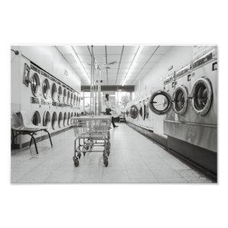 laundry photo print