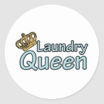 Laundry Queen with Crown Stickers