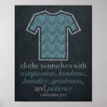 Laundry Room Chalkboard Art Poster