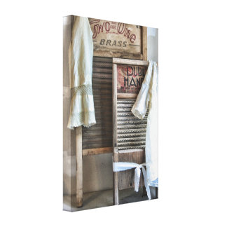 Laundry Room Decor Vintage Antique Washboard