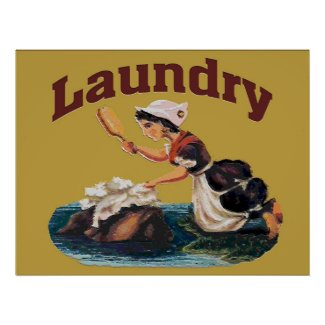 Laundry Room Sign print