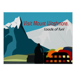 Laundry Room Travel Poster