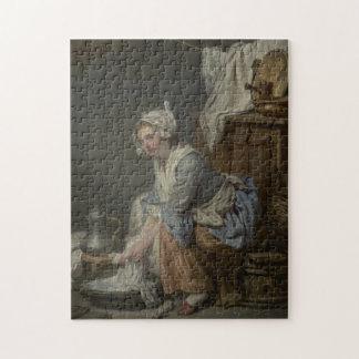 Laundry Room Washing Jigsaw Puzzle