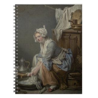 Laundry Room Washing Notebook