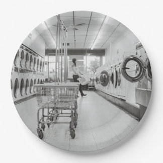 laundry 9 inch paper plate